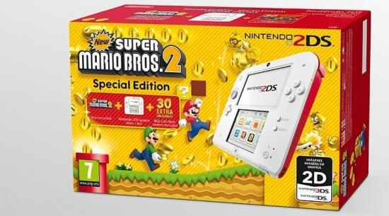 Imagen - Nintendo lanza el pack Nintendo 2DS con New Super Mario Bros 2 Special Edition