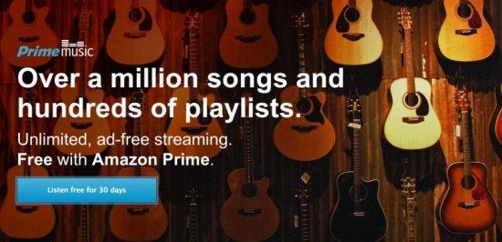 Imagen - Amazon presenta Prime Music, su servicio de música en streaming