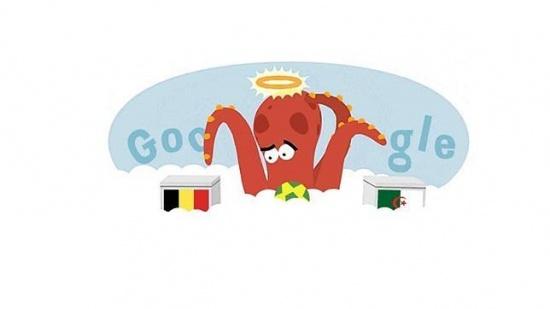 Imagen - Google dedica su Doodle al fallecido Pulpo Paul