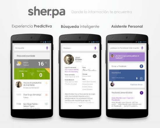 Imagen - Sherpa Next: el asistente por voz llega la próxima semana para Android