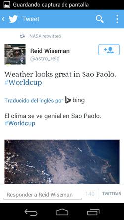 Imagen - Twitter traduce los tweets en el móvil