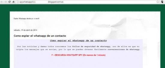 Imagen - WhatsApp Spy sigue funcionando y tima a usuarios de Facebook