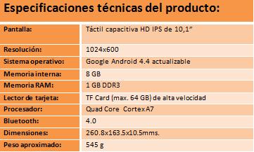 Imagen - Woxter presenta QX 101, su tablet de 10,1 pulgadas