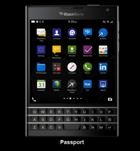 Imagen - BlackBerry Passport, el próximo dispositivo cuadrado de BlackBerry
