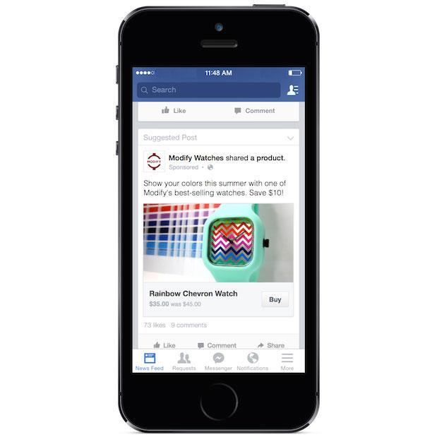 Imagen - Facebook permitirá comprar sin salir de la red social