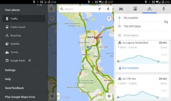 Imagen - Google Maps 8.2 llega con perfiles de elevación en bici y comandos de voz mientras navegas