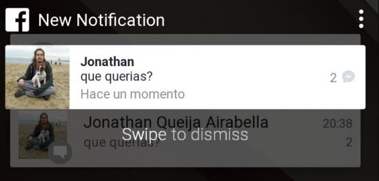 Imagen - Facebook prepara nuevas notificaciones al estilo Android L