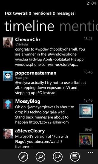 Imagen - 5 clientes de Twitter para Windows Phone