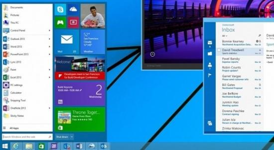 Imagen - Windows 9 traerá los gadgets en el escritorio y Cortana