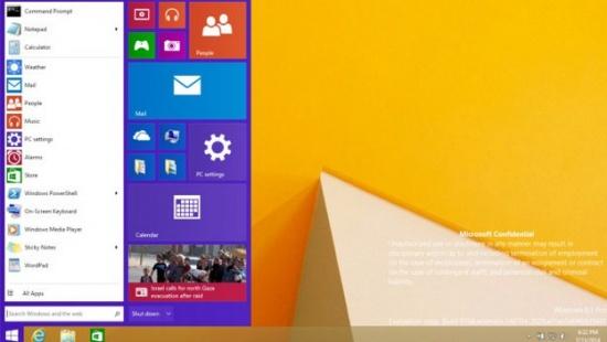 Imagen - Se filtra el menú Inicio del próximo Windows