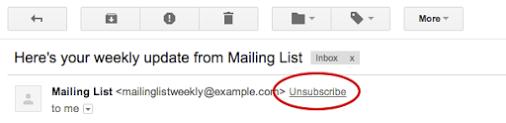 Imagen - Gmail permitirá darse de baja de los boletines de correo