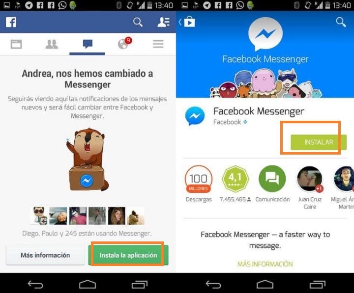 Imagen - Evita instalar Facebook Messenger para leer los mensajes