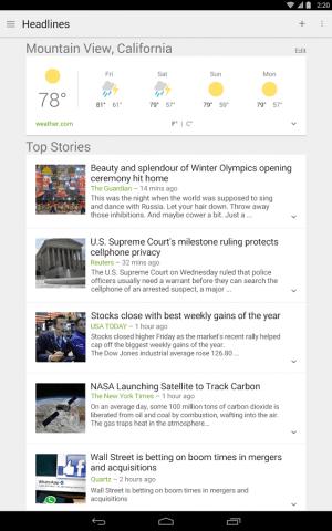 Imagen - La app Noticias y Tiempo se renueva completamente en Android
