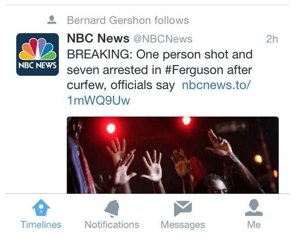 Imagen - Twitter ahora muestra tweets de usuarios que no seguimos