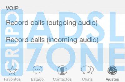 Imagen - WhatsApp permitirá grabar las llamadas