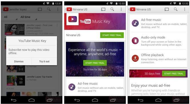 Imagen - YouTube Music Key, algunos detalles de un serio competidor para Spotify