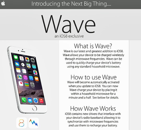 Imagen - Usuarios de iPhone 6 cargan el móvil en el microondas