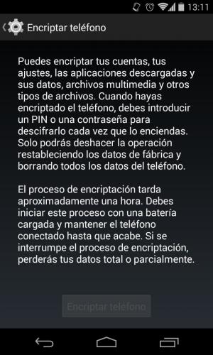 Imagen - Android L encriptará los datos por defecto