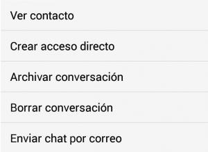 Imagen - WhatsApp ya permite archivar conversaciones