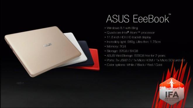 Imagen - ASUS EeeBook, un ultraportátil a buen precio