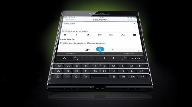 Imagen - BlackBerry vuelve a la carga con BlackBerry Passport