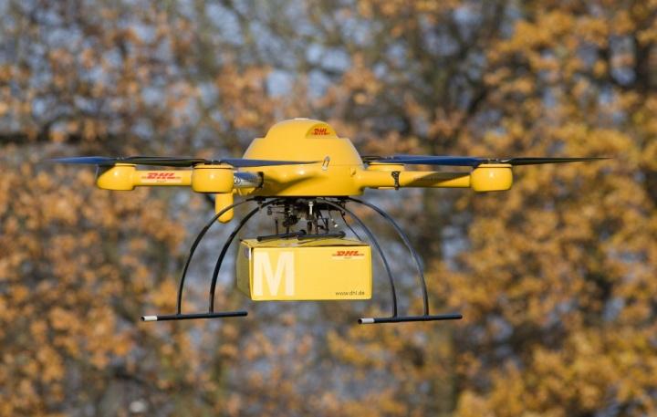 DHL también hará entregas con drones