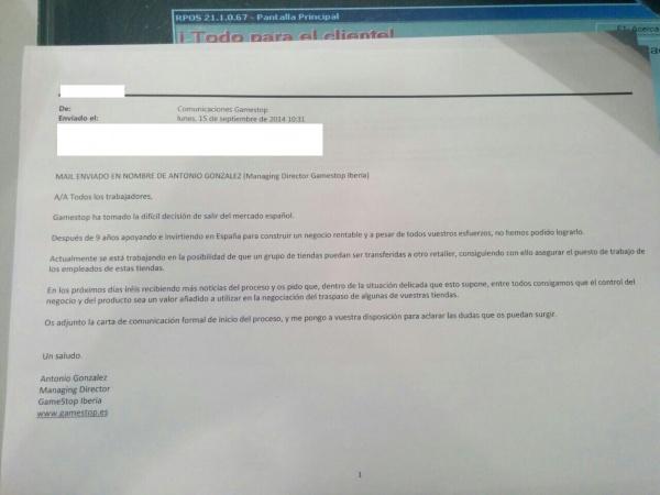 Imagen - GameStop cierra en España