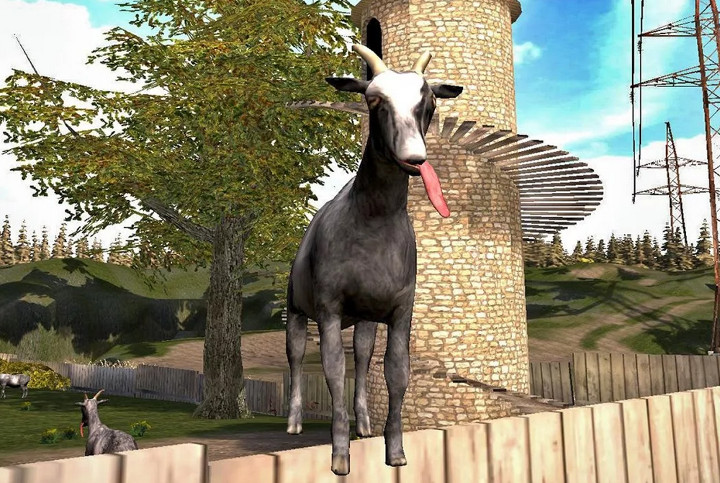 Goat Simulator, el juego de la cabra, ya disponible para iOS y Android