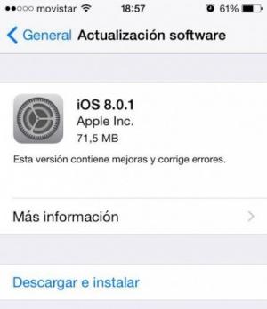 Imagen - Apple se disculpa y retira la actualización de iOS 8