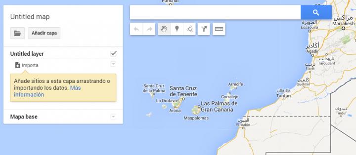 """Imagen - Google Maps renueva """"Mis Mapas"""""""