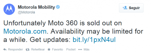 Imagen - Moto 360 se agota en su primer día