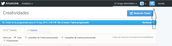 Imagen - Twitter ya permite programar tweets: aprende cómo