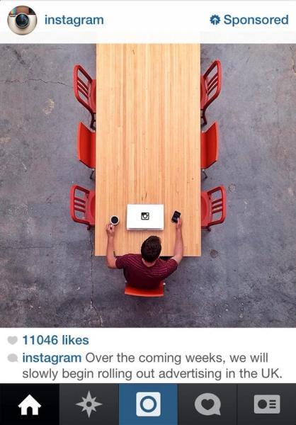 Imagen - Instagram empieza a incluir publicidad