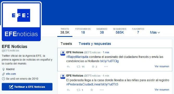 Imagen - #RajoyMariquita, el hashtag nacido de un error
