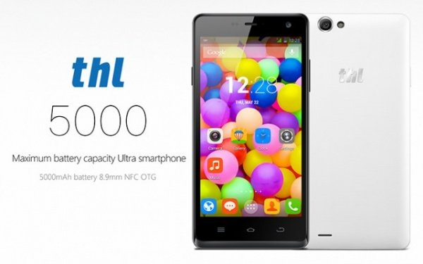 Imagen - THL 5000, el smartphone con batería de 5000 mAh