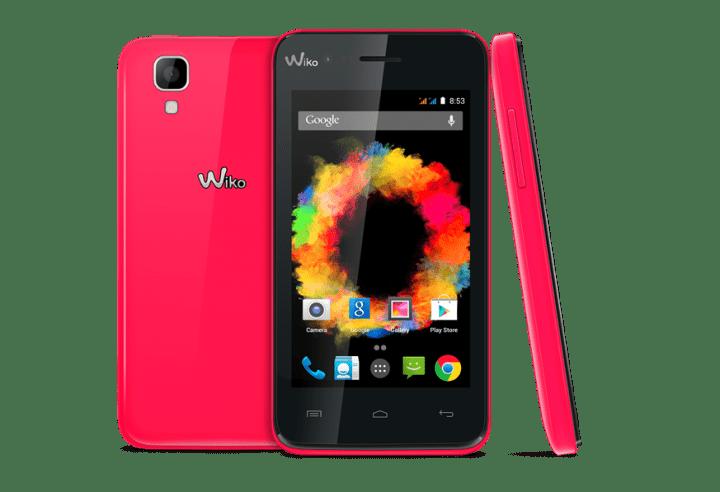 Wiko SUNSET, un smartphone Android por 79 euros