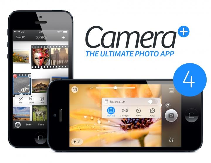 Descarga Camera+ para iOS gratis