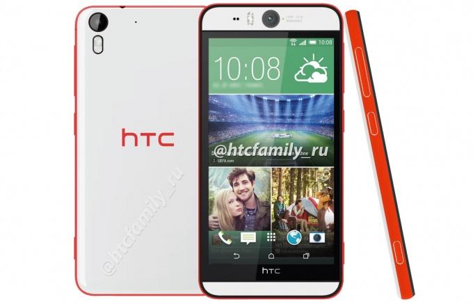 Imagen - HTC Desire Eye, cámara delantera para selfies de 13 megapíxeles y con flash