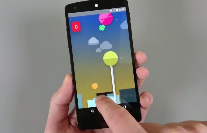 Android 5.0 Lollipop esconde un Flappy Bird en su interior