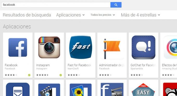Imagen - Google Play ahora permite filtrar apps con 4 o más estrellas