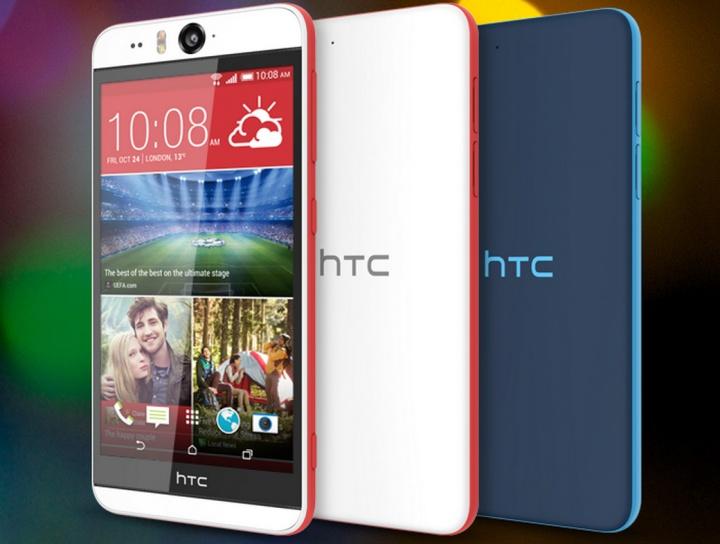 HTC Desire Eye, presentado un terminal con cámara delantera de 13 megapíxeles