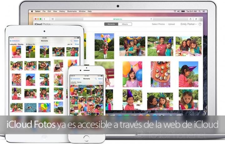 Imagen - iCloud Fotos ya está disponible en la web
