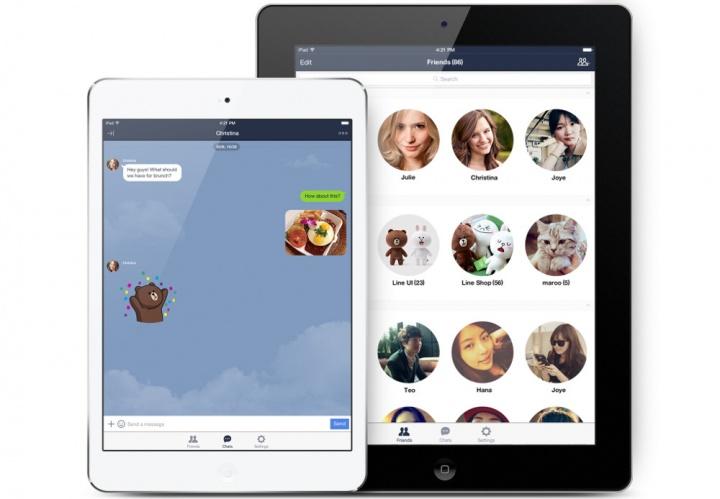 Descarga ya LINE para iPad