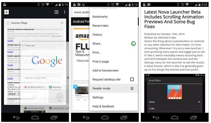 Imagen - Chrome para Android prepara un modo de lectura