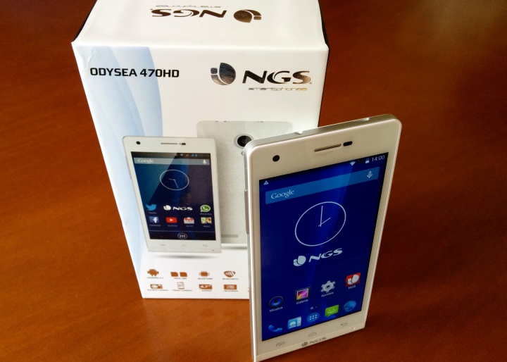 Imagen - Review: NGS Odysea 470HD, un smartphone gama media muy competitivo