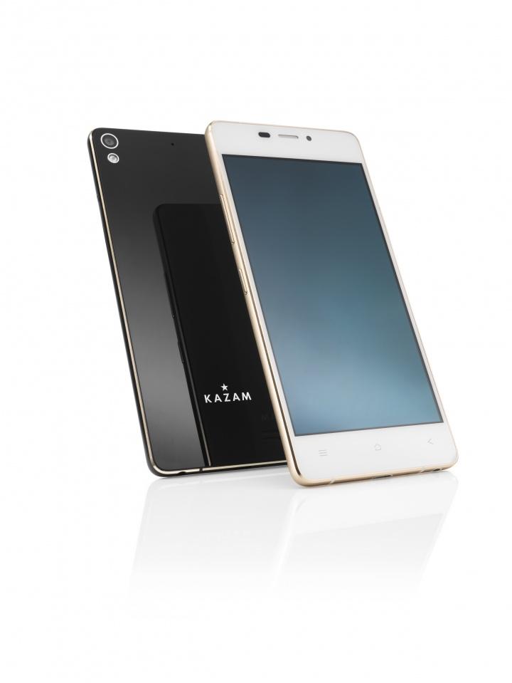 KAZAM Tornado 348: el smartphone más delgado del mundo