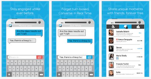 Beam, el primer servicio de mensajería en tiempo real