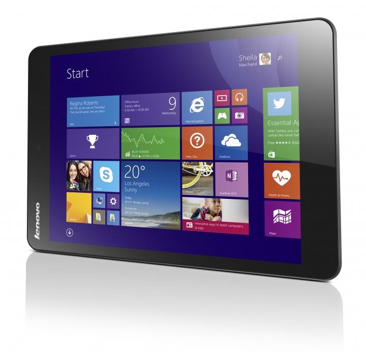 Lenovo MiiX 3, un delgado tablet con teclado
