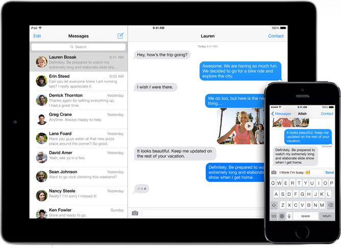 Imagen - Apple soluciona el error de iMessage que sufren los que abandonan iOS