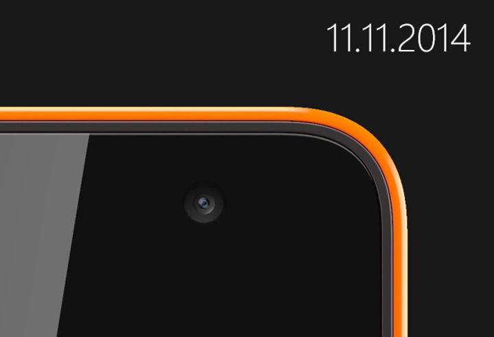 El primer Microsoft Lumia saldrá el 11 de noviembre